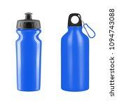 sports water bottles on white... | Shutterstock .eps vector #1094743088