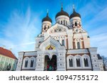 tallinn  estonia   december 31  ... | Shutterstock . vector #1094755172
