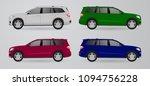 offroad luxury car truck... | Shutterstock .eps vector #1094756228