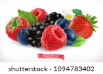 forest fruits and berries.... | Shutterstock .eps vector #1094783402