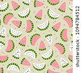 fruit background with... | Shutterstock .eps vector #1094784512