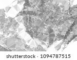 low poly mosaic grayscale... | Shutterstock . vector #1094787515