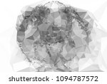 low poly mosaic grayscale... | Shutterstock . vector #1094787572