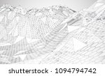 abstract vector background with ... | Shutterstock .eps vector #1094794742
