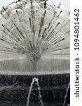 modern design fountain in city... | Shutterstock . vector #1094801462