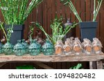 decorative bottles on the table ... | Shutterstock . vector #1094820482