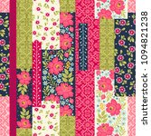 seamless pattern with...   Shutterstock .eps vector #1094821238