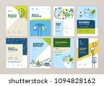 set of brochure and annual... | Shutterstock .eps vector #1094828162