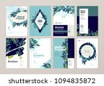 set of brochure and annual... | Shutterstock .eps vector #1094835872