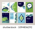 set of brochure and annual... | Shutterstock .eps vector #1094836292