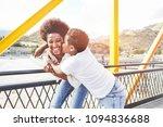 happy young mother having fun...   Shutterstock . vector #1094836688