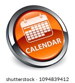 calendar isolated on 3d brown... | Shutterstock . vector #1094839412