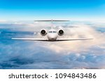 front view of aircraft. privat... | Shutterstock . vector #1094843486