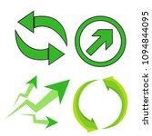arrows vector collection | Shutterstock .eps vector #1094844095
