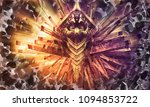 3d rendering of digital... | Shutterstock . vector #1094853722