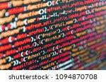 Closeup Of Java Script  Css An...