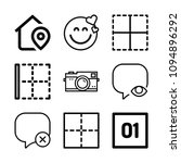 interface related set of 9...   Shutterstock .eps vector #1094896292