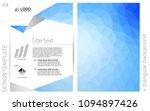 light blue vector  banner for...