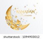ramadan kareem golden and... | Shutterstock .eps vector #1094903012