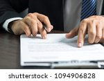 businessman or lawyer signing... | Shutterstock . vector #1094906828