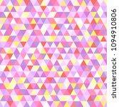 seamless triangle pattern....   Shutterstock .eps vector #1094910806