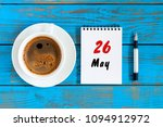 may 26th. day 26 of month  tear ... | Shutterstock . vector #1094912972