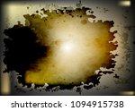dark stains watercolor... | Shutterstock .eps vector #1094915738