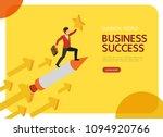 isometric business people... | Shutterstock .eps vector #1094920766