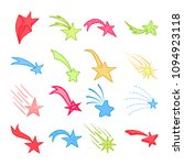 hand drawn doodle colorful...   Shutterstock .eps vector #1094923118