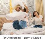 young girls friends fighting... | Shutterstock . vector #1094943095