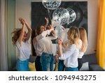 girls party. beautiful women... | Shutterstock . vector #1094943275