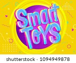 smart toys vector illustration... | Shutterstock .eps vector #1094949878