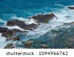 The Sea Eroded Terrain Of...