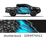 truck and car graphic... | Shutterstock .eps vector #1094974412