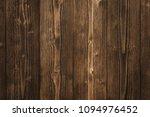 dark brown wood texture with... | Shutterstock . vector #1094976452