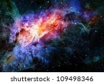 deep outer space background... | Shutterstock . vector #109498346