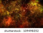 deep outer space background... | Shutterstock . vector #109498352