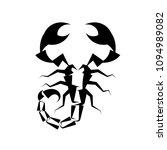 Scorpio Black Logo On White...