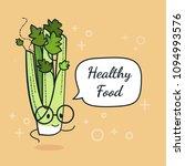 Celery With Speech Bubble....