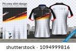 racing t shirt with zipper ...   Shutterstock .eps vector #1094999816