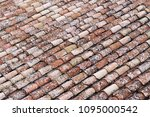 close up of old and weathered... | Shutterstock . vector #1095000542