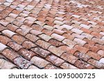 close up of old and weathered... | Shutterstock . vector #1095000725