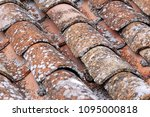 close up of old and weathered... | Shutterstock . vector #1095000818