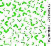 light green vector seamless ... | Shutterstock .eps vector #1095005252