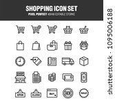 a set of icons related to... | Shutterstock .eps vector #1095006188
