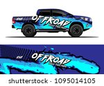 truck and car graphic... | Shutterstock .eps vector #1095014105