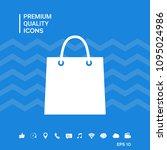 shopping bag symbol | Shutterstock .eps vector #1095024986