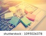 online shopping   retail... | Shutterstock . vector #1095026378