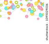 social media marketing ...   Shutterstock .eps vector #1095029036