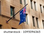 Flag of australia hang from a...